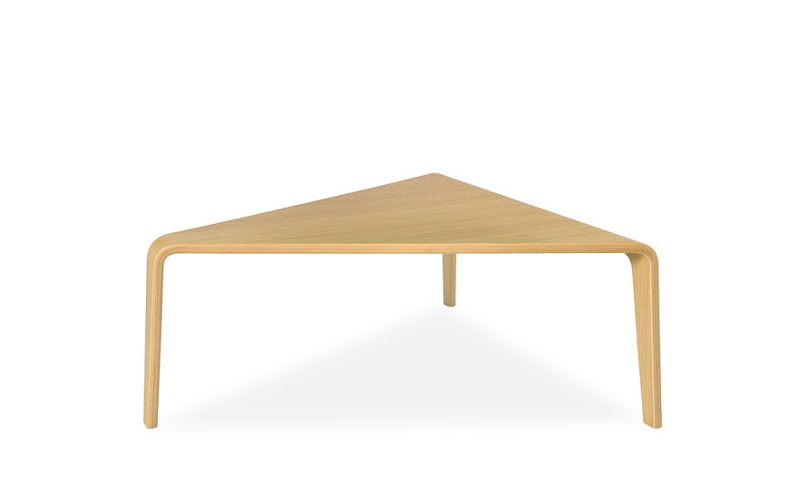 ply triangular coffee table