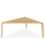 ply triangular coffee table  -