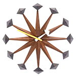 george nelson polygon wall clock  -