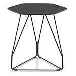 polygon wire table hexagon  - Herman Miller
