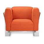 pop duo lounge chair - Piero Lissoni - Kartell
