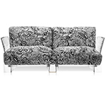 pop missoni 2 seat sofa - Piero Lissoni - Kartell