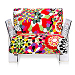 pop missoni lounge chair - Piero Lissoni - Kartell