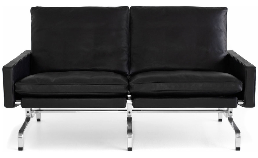 poul kjaerholm pk31 two seat sofa