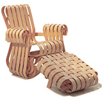 gehry power play lounge chair