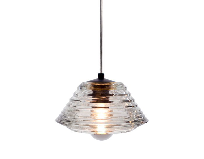 pressed glass light bowl pendant