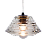 pressed glass bowl pendant - Tom Dixon - tom dixon