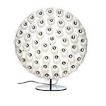 prop light round floor lamp  -