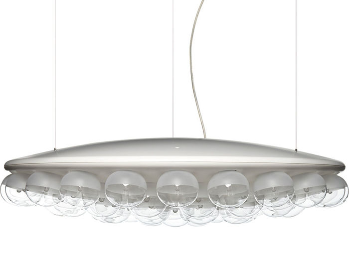 prop light round single suspension lamp