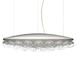 prop light round single suspension lamp  -
