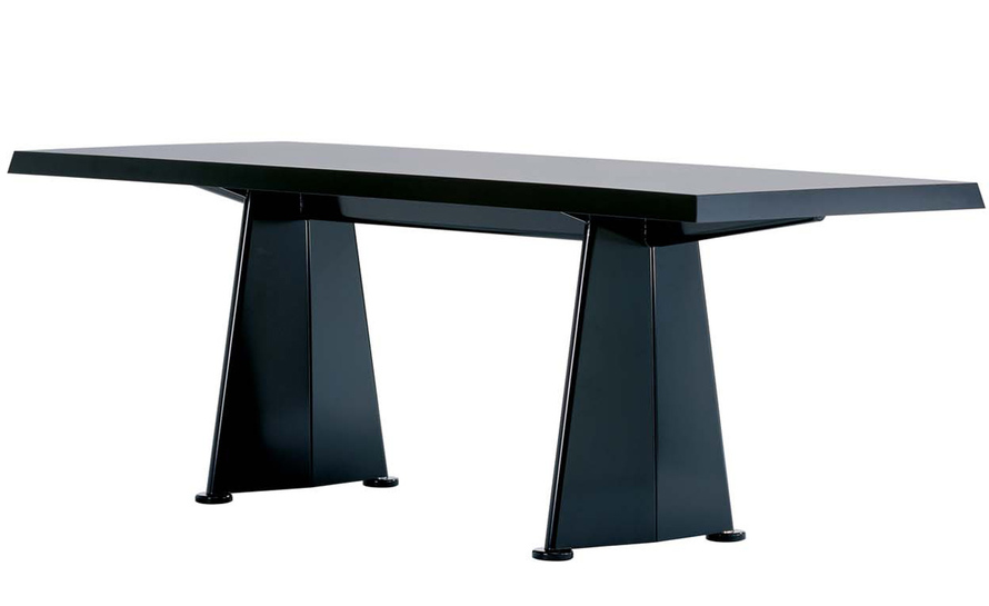 prouv trapeze table. Black Bedroom Furniture Sets. Home Design Ideas