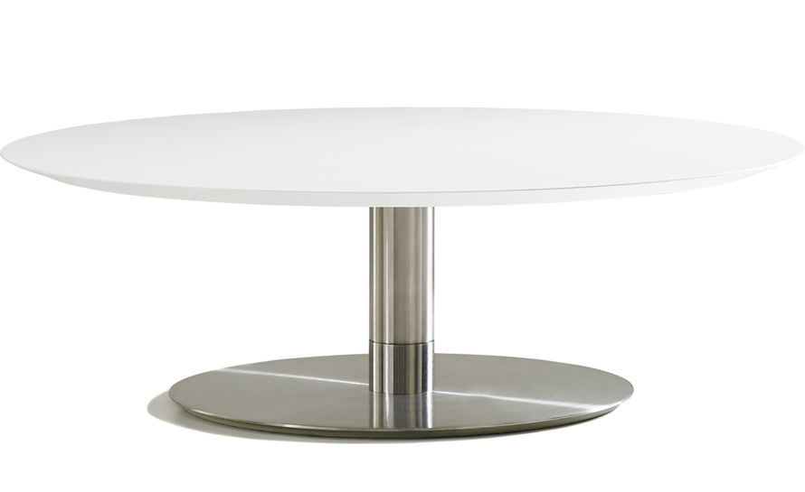 quiet round cocktail table