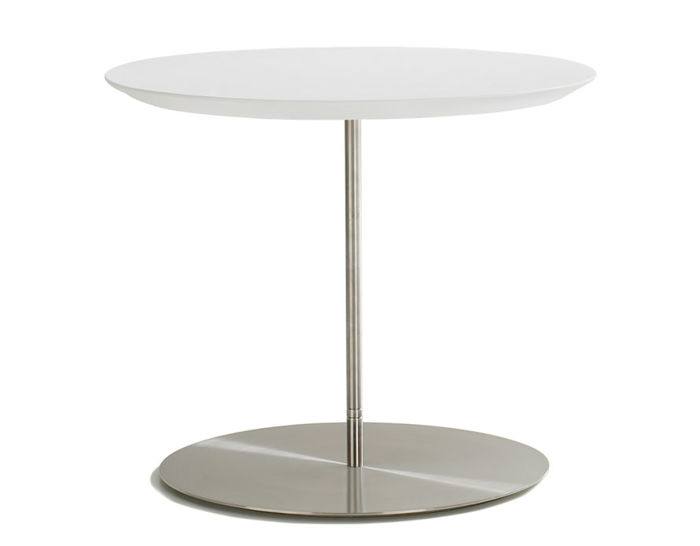 quiet round top occasional table