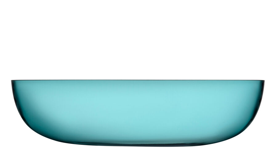 raami glass serving bowl