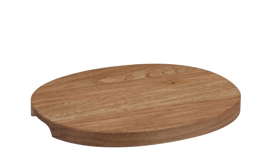 raami oak serving tray