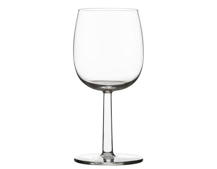 raami red wine glass 2 pack by jasper morrison for iittala