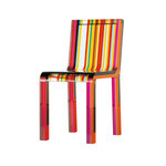 rainbow chair  -