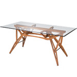 reale table - Carlo Mollino - zanotta