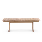 refectory extending table 405 - Matthew Hilton - de la espada