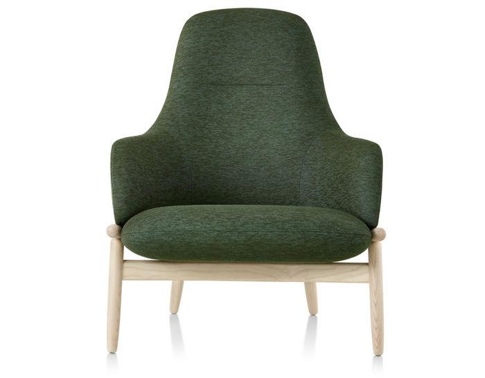 reframe high back lounge chair