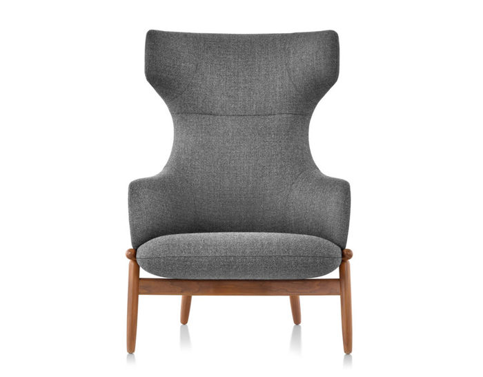 reframe wing back lounge chair