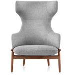 reframe wing back lounge chair  - Herman Miller