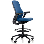 regeneration fully upholstered high task chair  -