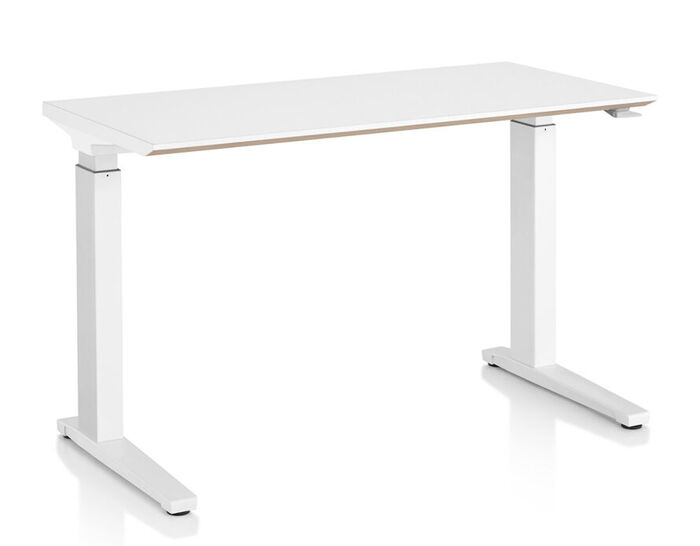 renew sit-to-stand c-foot table