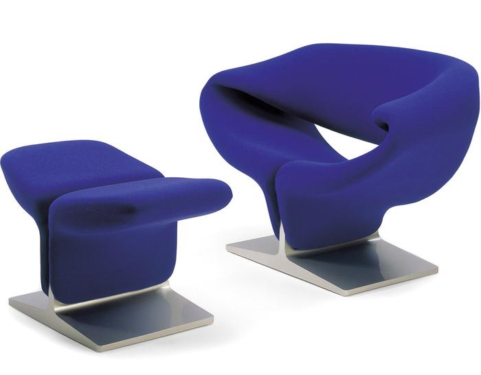 Ribbon Chair U0026 Ottoman