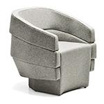 rift small armchair - Patricia Urquiola - Moroso