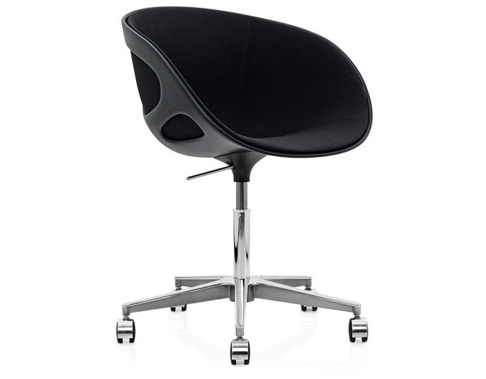 rin task chair with upholstered front