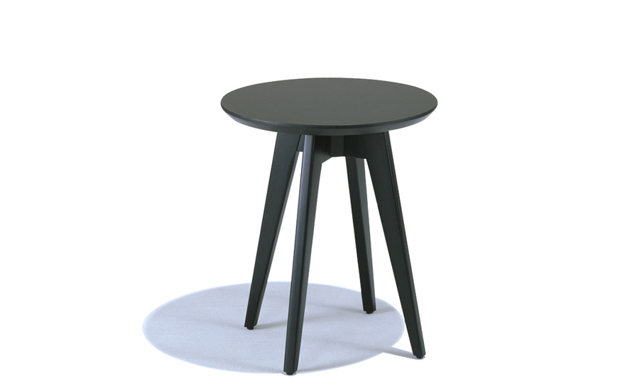 Incroyable Risom Round Side Table