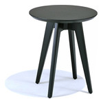 risom round side table  -