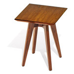 risom square side table  -