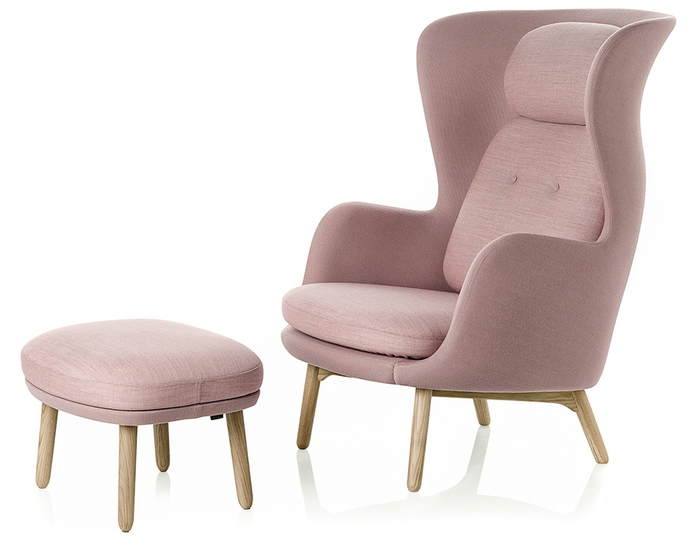 Ro Lounge Chair And Ottoman Hivemoderncom