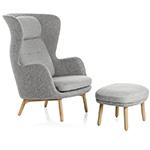 ro lounge chair - Jaime Hayon - Fritz Hansen