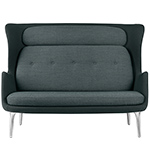 ro™ sofa with metal base  -