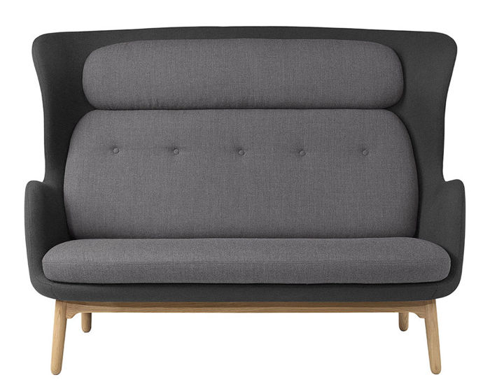 Ro  Sofa With Wood Base hivemodern com