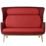 ro™ sofa with wood base  -