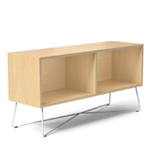 rockwell unscripted 48 inch open credenza  - Knoll