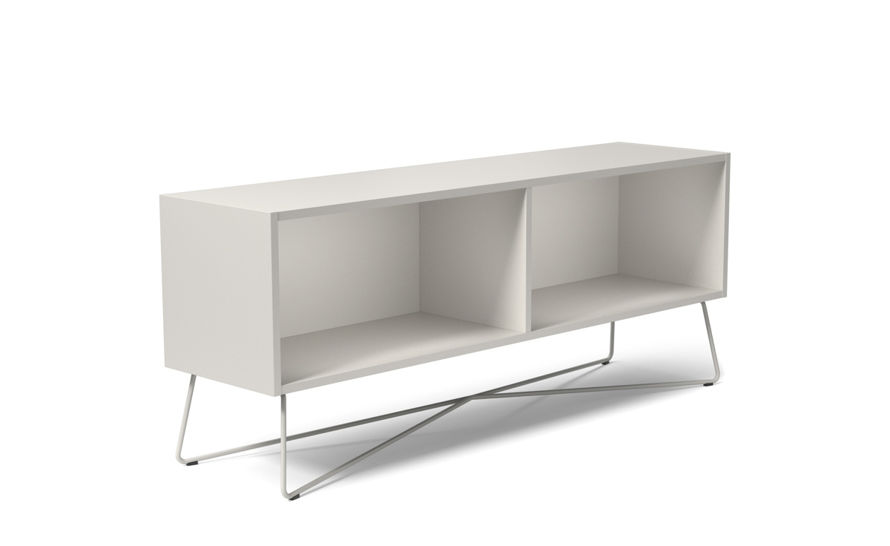 rockwell unscripted 60 inch open credenza