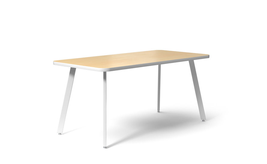 rockwell unscripted rectangular easy table