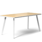 rockwell unscripted rectangular easy table  - Knoll