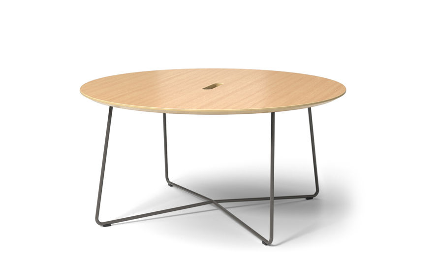 rockwell unscripted round coffee table