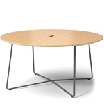 rockwell unscripted round coffee table  - Knoll