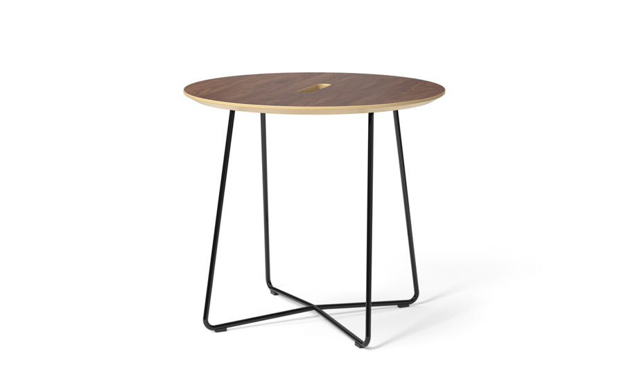 rockwell unscripted round top side table