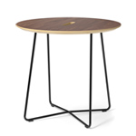 rockwell unscripted round top side table  -
