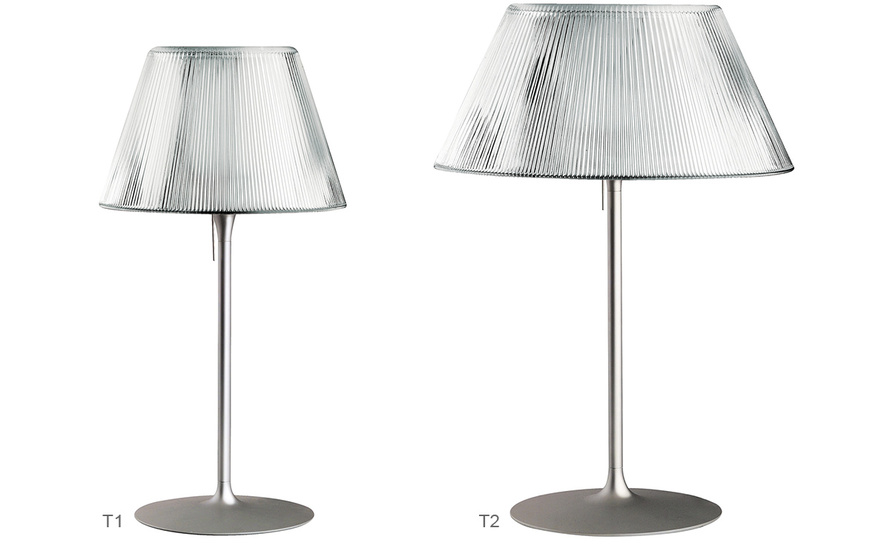 Romeo moon t1 medium table lamp for Philippe starck ak table lamp