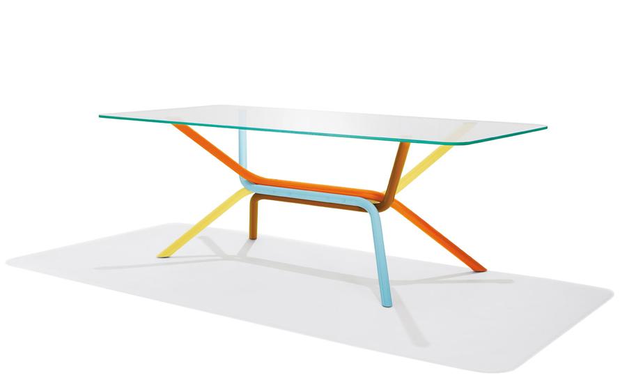 ross lovegrove rectangular tables