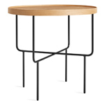 roundhouse tall side table  -